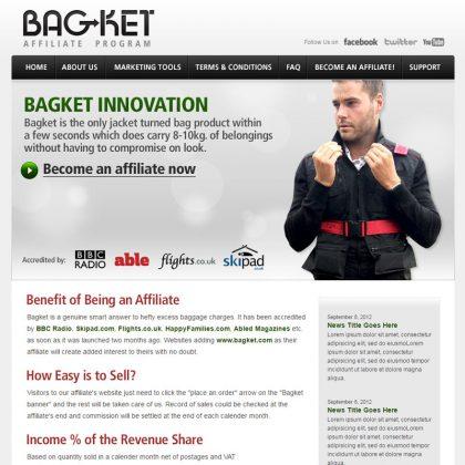 Bagket Affiliate Program